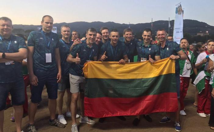 Vyrų 35+ bronzos medalių laimėtojai