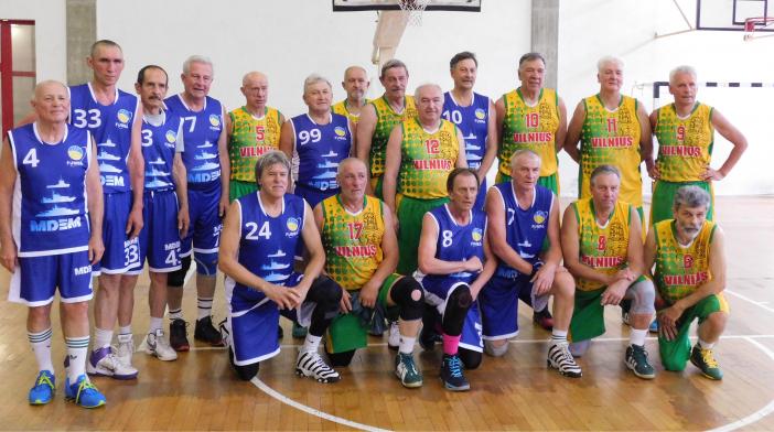 Vyrų 60+ komanda